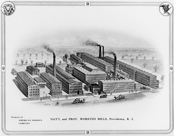 Historic engraving of the project
